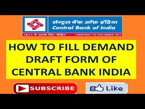 Video DEMAND DRAFT FORM DD FILL UP CENTRAL BNK OF INDIA download in MP3, 3GP, MP4, WEBM, AVI, FLV January 2017