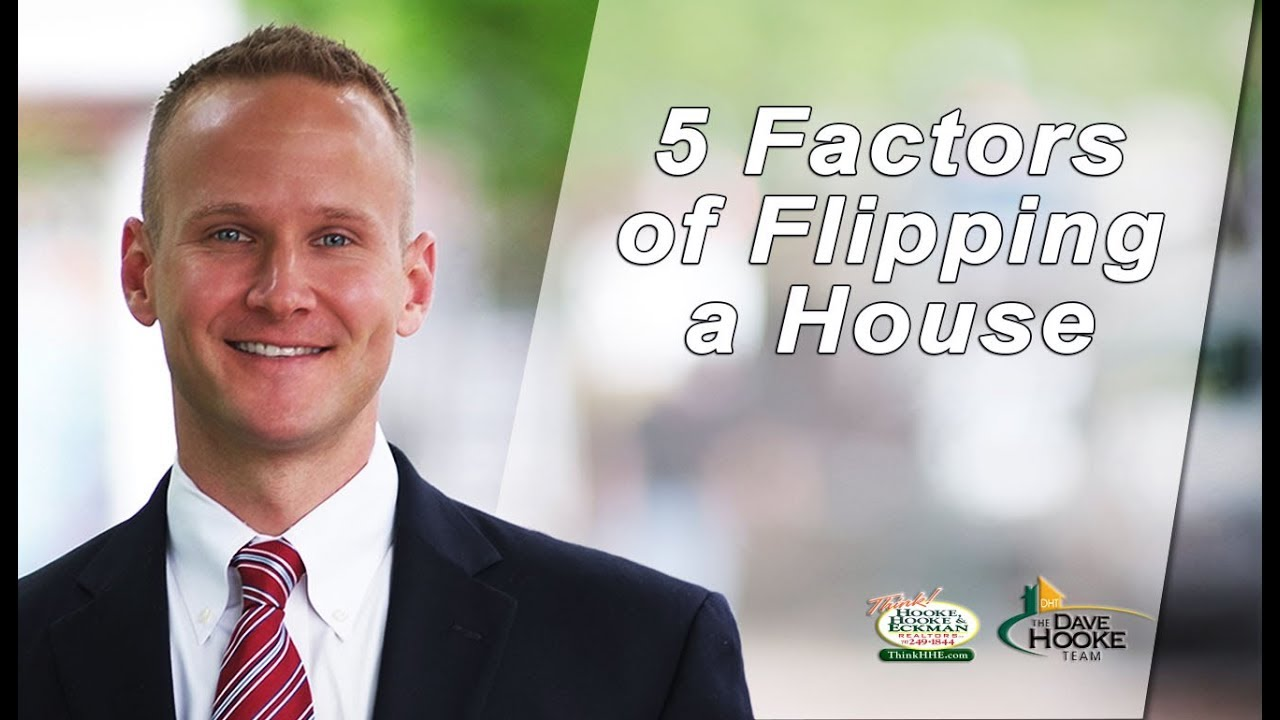 5 Factors to Think About When Flipping a Home