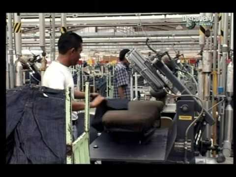 Dlouhá historie modrých džín