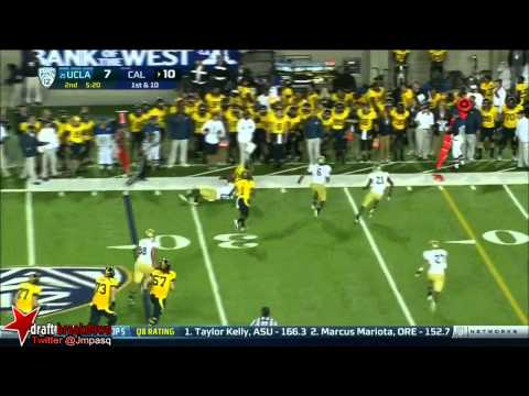 Brendan Bigelow vs Ohio St. USC UCLA WSU 2012 video.