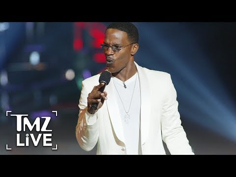 Jamie Foxx Accused Of Genital Slap!! | TMZ Live