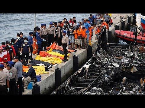 Ινδονησία: Ναυτική τραγωδία με δεκάδες νεκρούς