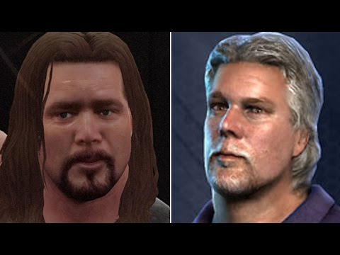 WWE 2K17 vs TNA IMPACT - MORE Big Names That Appeared In Both! (Part 2)