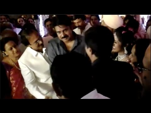 Pawan Kalyan at Vedavyas Son's Marriage   Exclusive Video