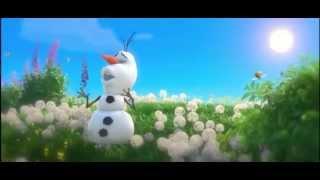 """Frozen, Olaf cantando """"El verano"""" (Latino) HD"""