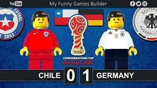 Brick film reconstruction of the Final FIFA Confederations Cup Russia 2017 between Chile and GermanyFIFA Confederations Cup Russia 2017 / FinalChile vs Germany 0-1- 20' StindlSaint Petersburg StadiumSaint Petersburg (RUS)02 July 2017-----------------------------------------------------------------------------------------------------Top Link Competitions:- Champions League • https://www.youtube.com/playlist?list=PLDgxLNKesJl59dj09mFzcegFIPp6WuZzr - Serie A • https://www.youtube.com/playlist?list=PLDgxLNKesJl4TjpWj4a2DVmglqt4p6fUu - LaLiga • https://www.youtube.com/playlist?list=PLDgxLNKesJl59dj09mFzcegFIPp6WuZzr - Premier League • https://www.youtube.com/playlist?list=PLDgxLNKesJl7i36gCR5CicjPy_wRCDYuO - FIFA World Cup • https://www.youtube.com/playlist?list=PLDgxLNKesJl6D9GsBdjq3lngqH-AYc8EvTop Link Club:- Real Madrid CF • https://www.youtube.com/playlist?list=PLDgxLNKesJl56wTYUI1DoIGPoQHYzI9vk - FC Barcelona • https://www.youtube.com/playlist?list=PLDgxLNKesJl495fjfDEcLABBuWTAhB5L1 - Chelsea • https://www.youtube.com/playlist?list=PLDgxLNKesJl7bYGLGK3YuzDiq_2_nAPEA - Manchester United • https://www.youtube.com/playlist?list=PLDgxLNKesJl6HKGMfEMxhRpAHfJMeNDom- Juventus FC • https://www.youtube.com/playlist?list=PLDgxLNKesJl7_LsTYvAWQMlpIA6rJ32Hm - AC Milan • https://www.youtube.com/playlist?list=PLDgxLNKesJl5lOf_KfRfmP0Cciwhpr4cR - FC Inter • https://www.youtube.com/playlist?list=PLDgxLNKesJl6ccUhR3yipMwKRh44WQR10 - SSC Napoli • https://www.youtube.com/playlist?list=PLDgxLNKesJl6hHHfUC1qhA_mxbIf8h-eQ - AS Roma • https://www.youtube.com/playlist?list=PLDgxLNKesJl4q9am3RuaTzjKa3TJHgEHo Top Link Finals: https://www.youtube.com/playlist?list=PLDgxLNKesJl4RZ4B0njyFrWB9Ayb7-EYF-----------------------------------------------------------------------------------------------------LEGO® is a trademark of the LEGO Group of companies which does not sponsor, authorize or endorse this channel.