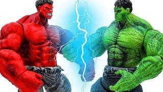 Video Power Rangers & Marvel Avengers Toys Pretend Play | Hulk vs Red Hulk MP3, 3GP, MP4, WEBM, AVI, FLV September 2018