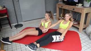 Abs workout routine // Abs exercises to do at home