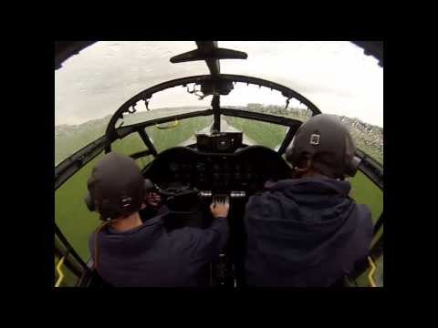 Lancaster taxy run with commentary