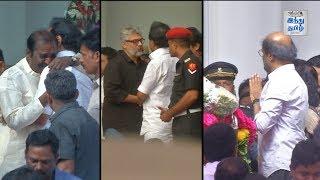 Video Tamil Film Celebrities Pays Last Respect to Karunanidhi | Ajith, Rajini, Surya, Vairamuthu MP3, 3GP, MP4, WEBM, AVI, FLV Agustus 2018