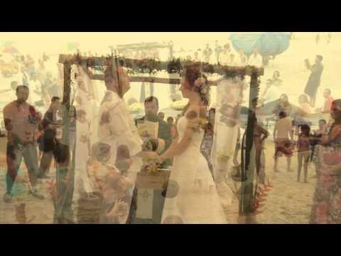 Cerimônia de Casamento na Praia - Santuário Santo Expedito - Padre Alex Daniel - 2013