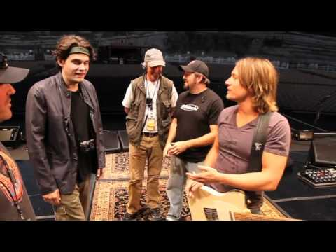 Keith Urban Blog #70: Keith And John Mayer At The Gorge