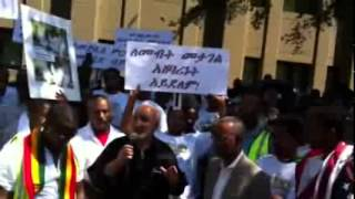 First Hijrah Community Demonstration Against Ethiopian Government in Washington DC