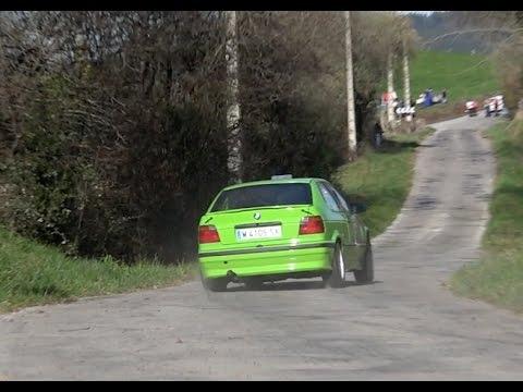 BMW Compact Maximum attack & Close call | Rallysprint de Hoznayo 2015 HD