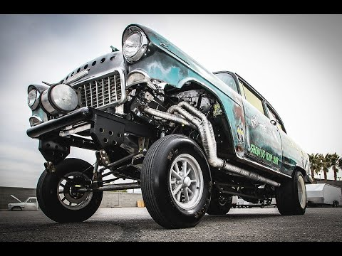 THE 55' CHEVY GASSER