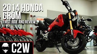 2. 2014 Honda Grom - First Ride and Review