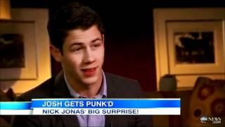 Nick Jonas en Punk'd, SUBTÍTULOS EN ESPAÑOL . HD .