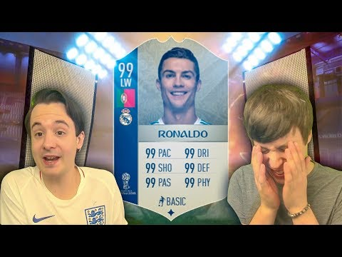 WORLD CUP RONALDO IS OFFICIALLY ON THE LINE - FIFA 18 ULTIMATE TEAM (видео)