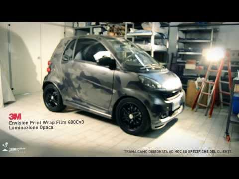 Smart Brabus Car Wrapping Camo by GuerreraStyle.com