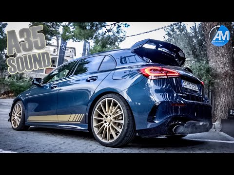 Mercedes-amg A35 - Pure Sound!