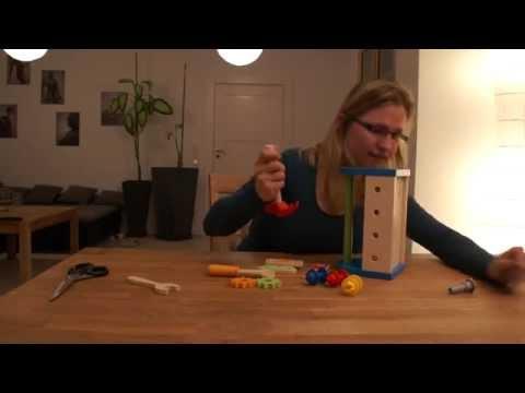 Werkzeugkasten, 14-teilig aus Holz (Hape) - Rezension Kinderspielzeug-Test