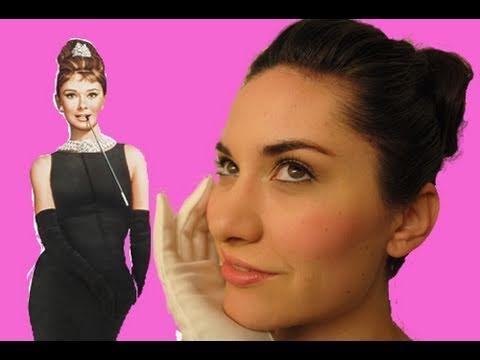Audrey Hepburn Makeup Tutorial - Fresh Faced Look - wedding - party - teen