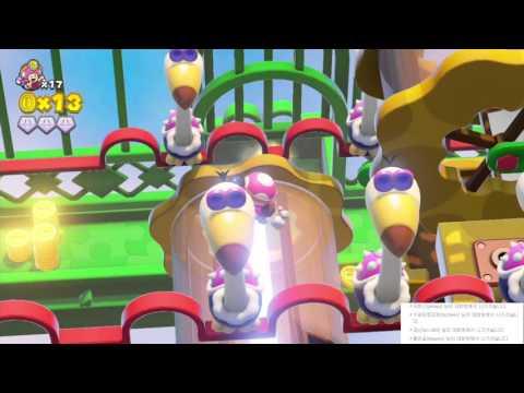 게임유희록 - 전진! 키노피오 대장 #12(WiiU) Captain Toad : Treasure Tracker #12[레비]