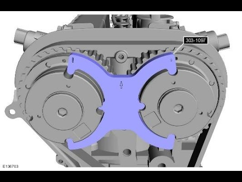 фиксатор для замены грм форд фокус 3