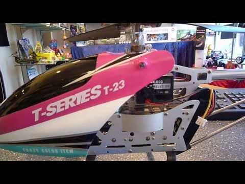 T-23 (T Series) Big RC Helicopter Battery Upgrade