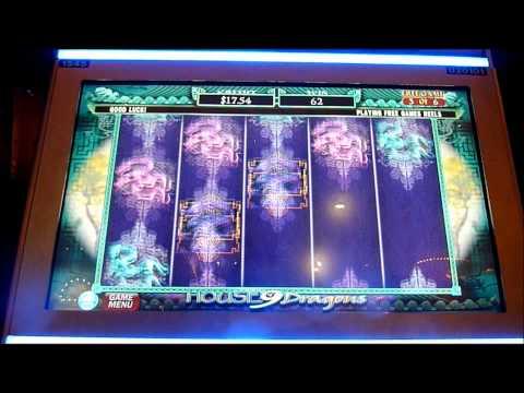 House 9 Dragon Slot Machine Bonus Win (queenslots)