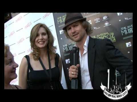 Fiona Joy Hawkins @ Musicoz Awards 2008. Sydney, Australia.