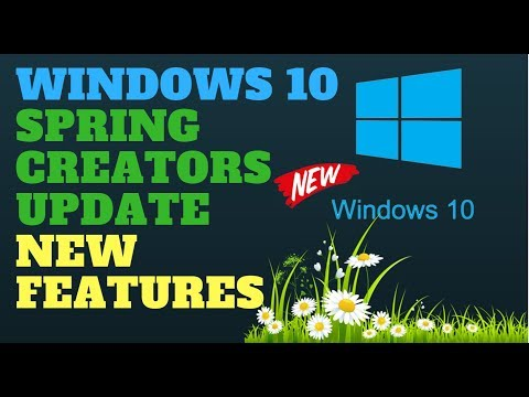 Windows 10 April 2018 Update New Features build 1803 Redstone 4