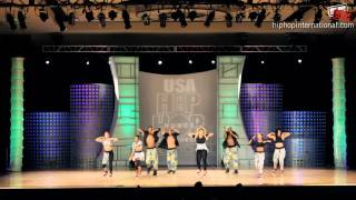 North Hollywood (CA) United States  city images : The Waackers - North Hollywood, CA (Adult) @ HHI's USA Hip Hop Dance Championship 2012