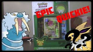 King Walrein's Quickies! Shaymin Mythical Box! 35$ PULL?! by Master Jigglypuff and Friends
