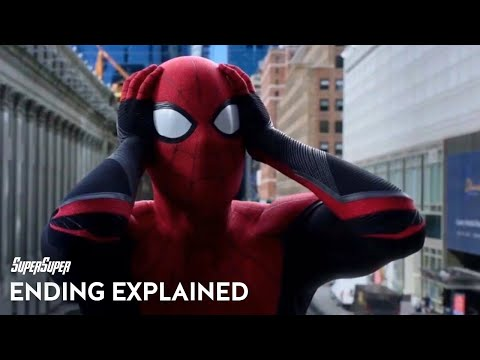 Spider-Man: Far From Home Ending and End Credits Explained | SuperSuper