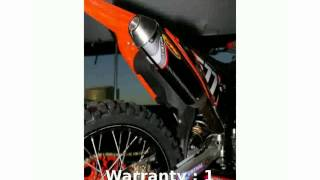 10. 2007 KTM SX 250 - Review