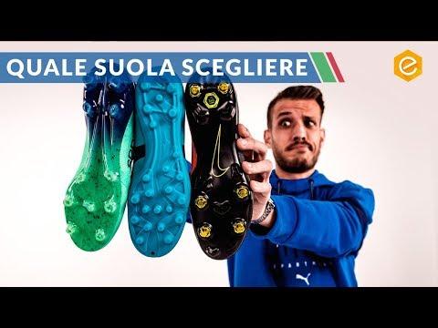 Le SUOLE delle scarpe da calcio