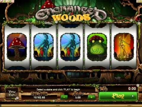 EmuCasino Online Pokie - Enchanted Woods