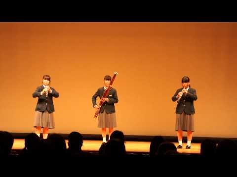 30.野々池中学校  木管3重奏