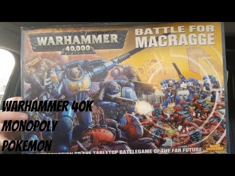 Carboot Retro and Gaming Haul #73. Collecting and Reselling on eBay: Warhammer 40k. Retro Boardgames