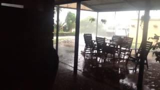 Gympie Australia  city photo : Dangerous hail storm Gympie, Australia