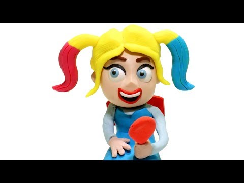 New hairstyle - Elsa Frozen New Hair Style - Superhero Babies Play Doh Cartoons & Stop Motion for kids