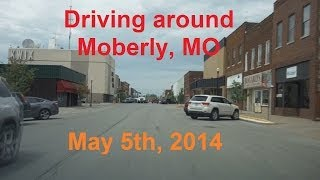 Moberly (MO) United States  city photo : Driving around Moberly, MO