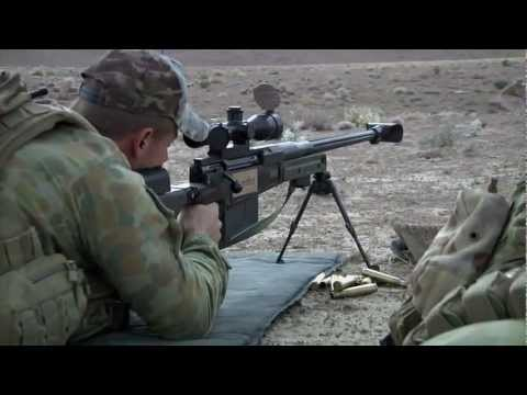 M24 - Australian, Afghan and U.S. Army snipers training on their weapons in Uruzgan, Afghanistan. Scenes include Australians mentoring A.N.A. snipers, firing the A...