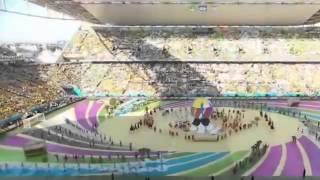 FIFA World Cup 2014 Brazil Opening Ceremony Pitbull&Jennifer Lopez