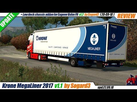 Krone MegaLiner 2017 addon v1.1