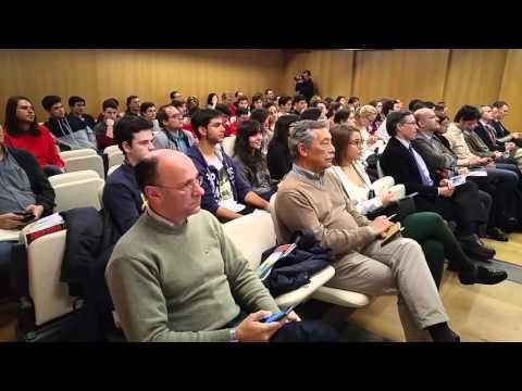 Conferencia de D. José Luis Cordeiro, Profesor de Singularity University