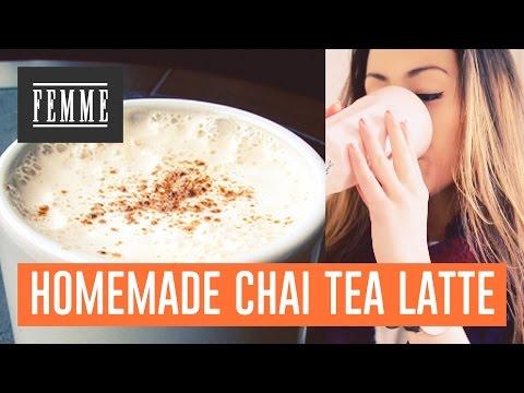 homemade - Hoi allemaal! Vandaag laat ik zien hoe je heel makkelijk een lekkere chai tea latte kunt maken, veel plezier! X Jiami Vergeet je niet te abonneren op ons channel om zo als eerste op de hoogte...