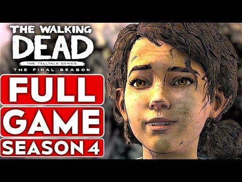 THE WALKING DEAD GAME FULL SEASON 4 Gameplay Walkthrough Part 1 FULL GAME - No Commentary