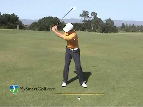 Golf instruction – Impact position